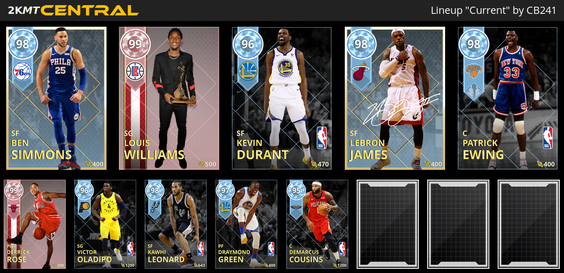 Locker Codes to Playoff Moments Cards - myteam - 2K Gamer