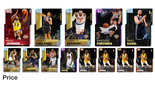 Suggestions after the grind - lineups - 2K Gamer