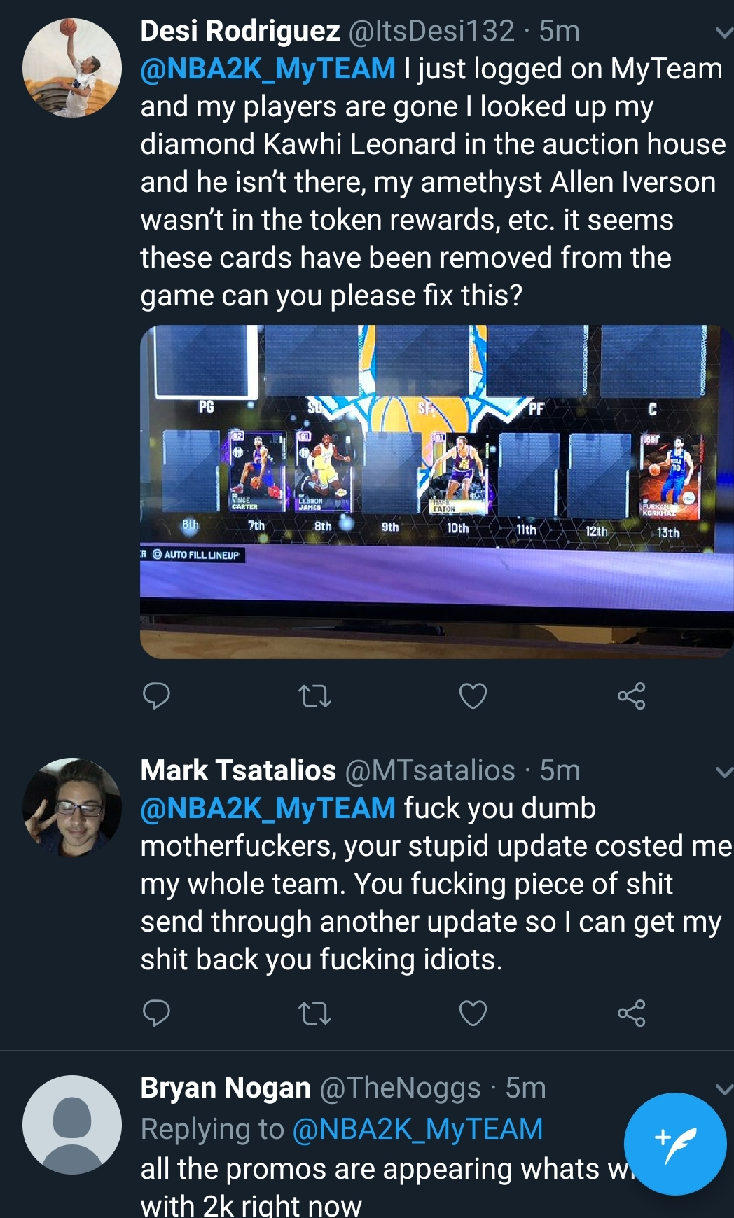 Where did all my moments cards go? - myteam - 2K Gamer